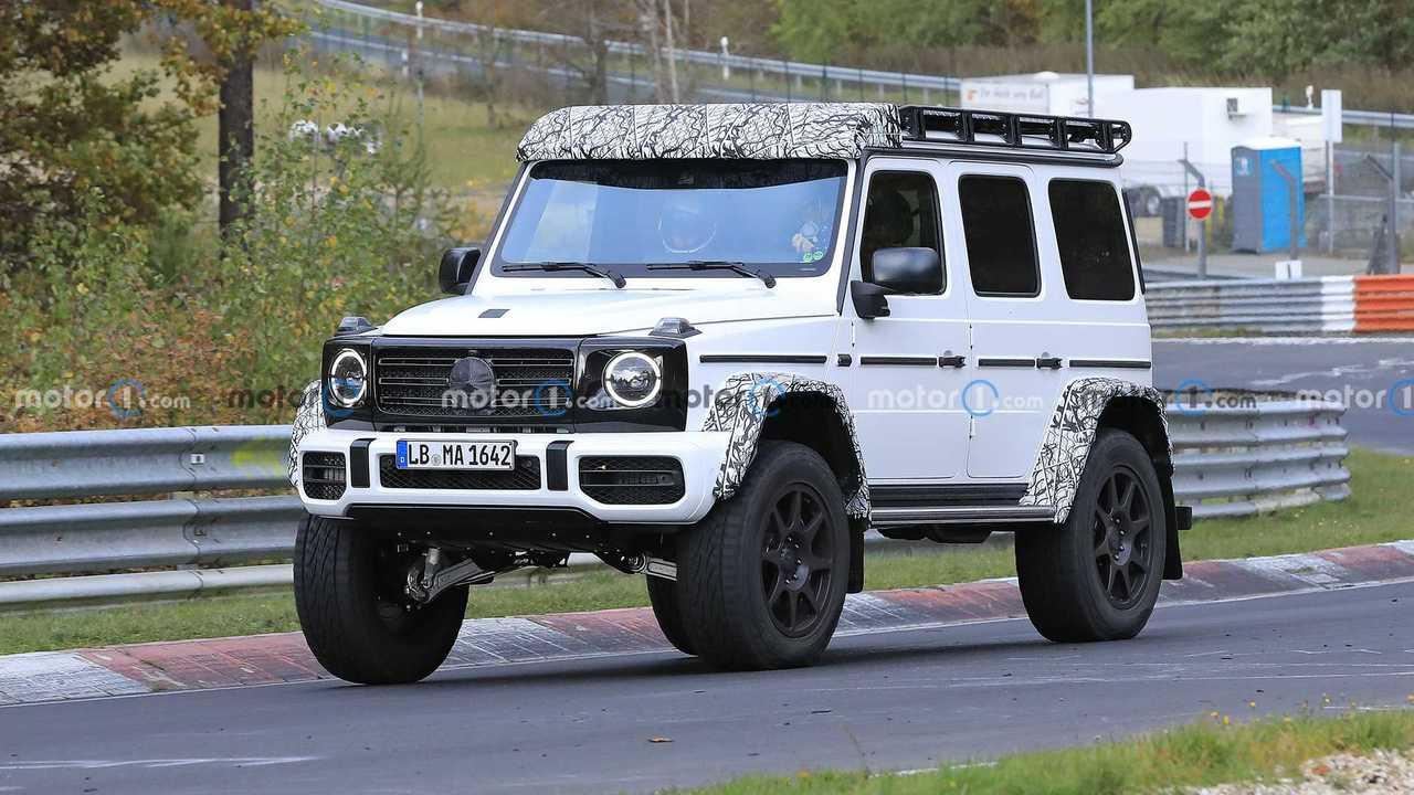 Mercedes-Benz G-Serisi 4x4² ön