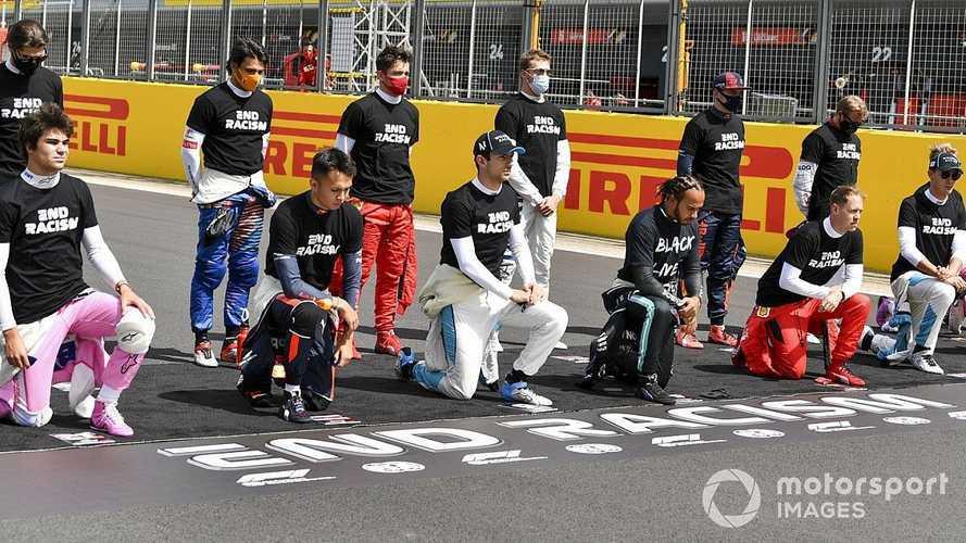 Смиритесь: Formula 1 опять будет стоять на коленях