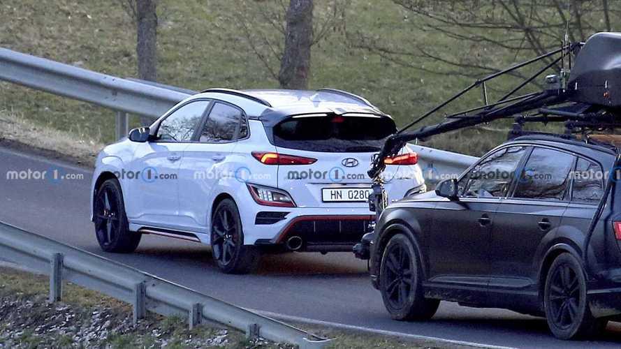 Hyundai KONA N 2021 sin camuflaje