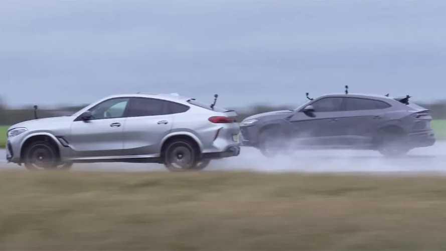 Videó: Tudja-e tartani a lépést a BMW X5 M a Lamborghini Urusszal?