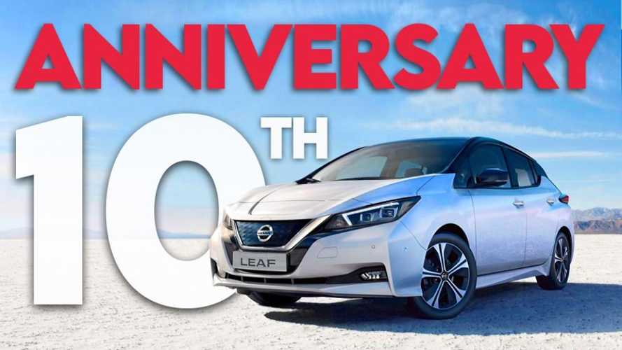 Nissan LEAF Turns 10: Let's Celebrate