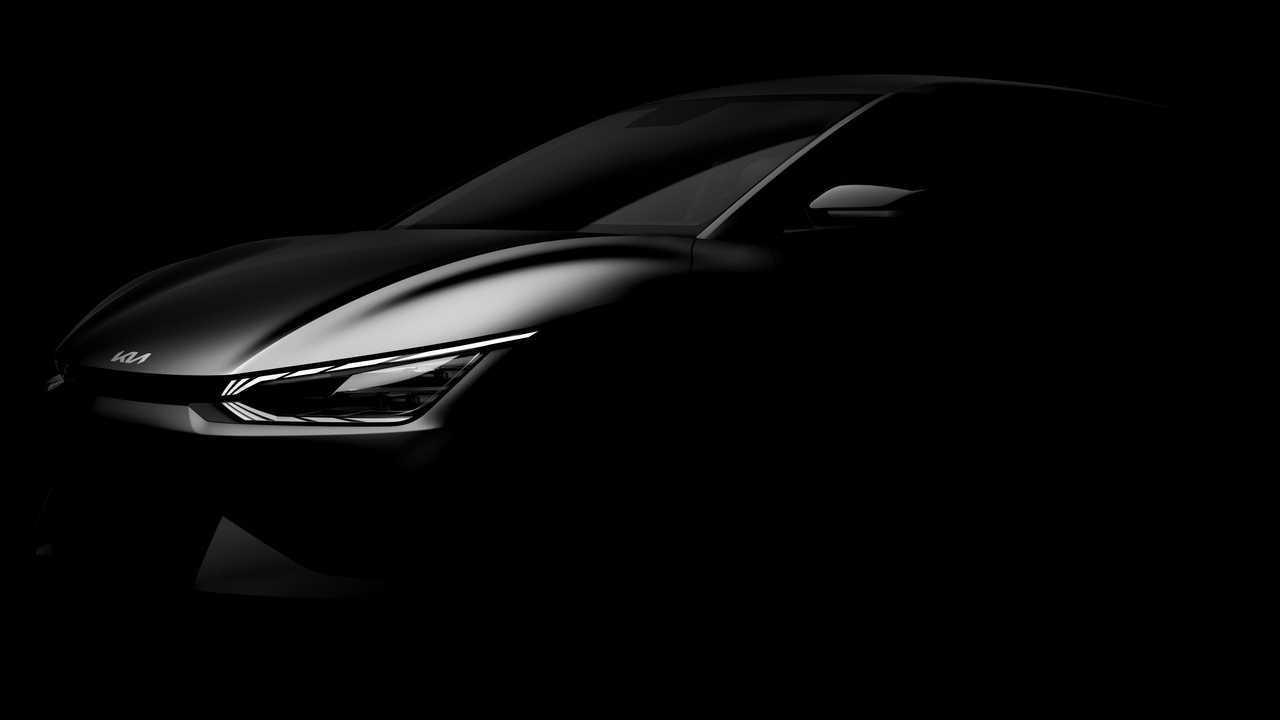 Teaser del futuro Kia EV6 2021 eléctrico