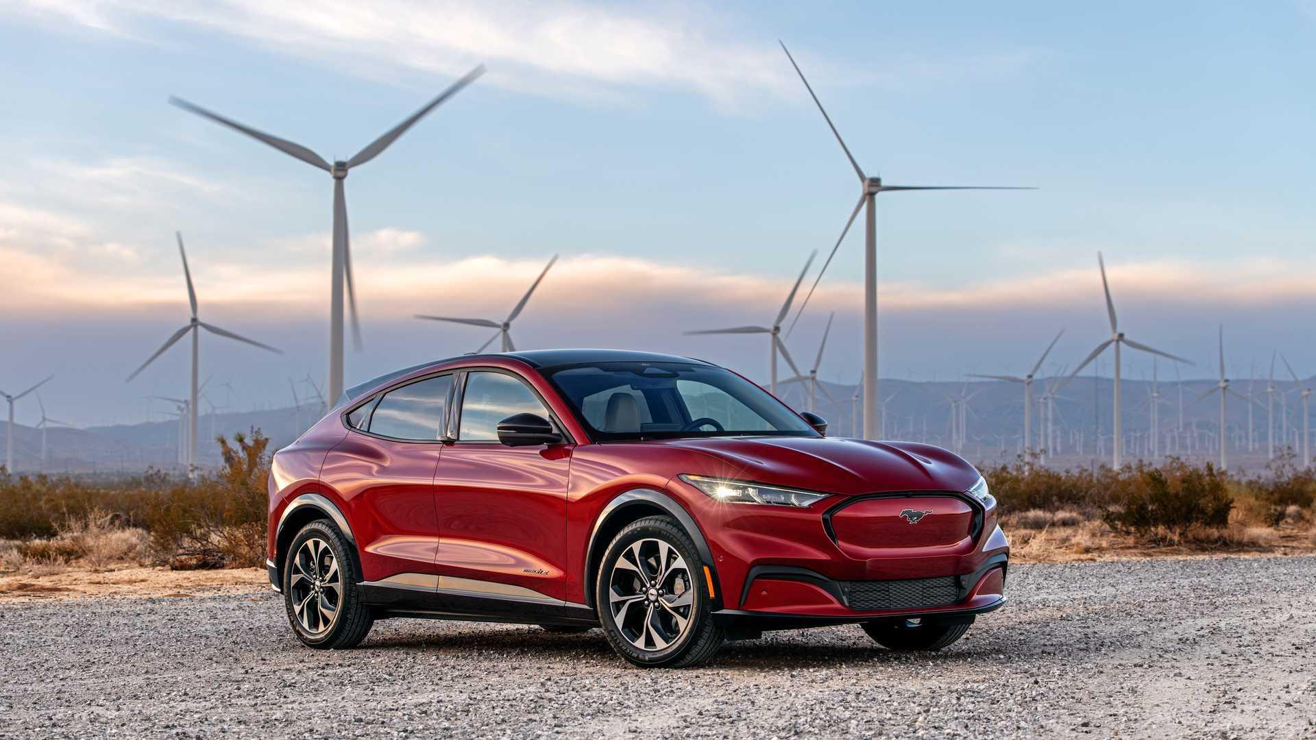The Mustang Spirit, Electrified.
