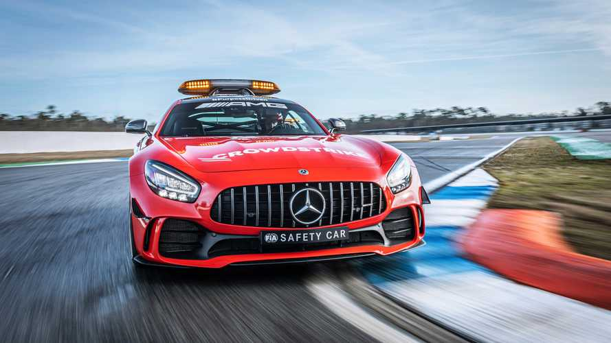 Mercedes-AMG presenta su Safety Car para la F1 2021