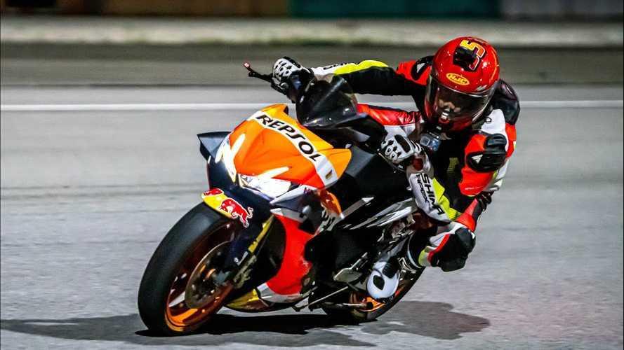 Custom Honda RS150R Does Best Impression Of RC213-V MotoGP Bike