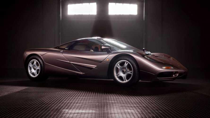 Sadece 387 kilometredeki bu McLaren F1 açık artırma ile satılacak