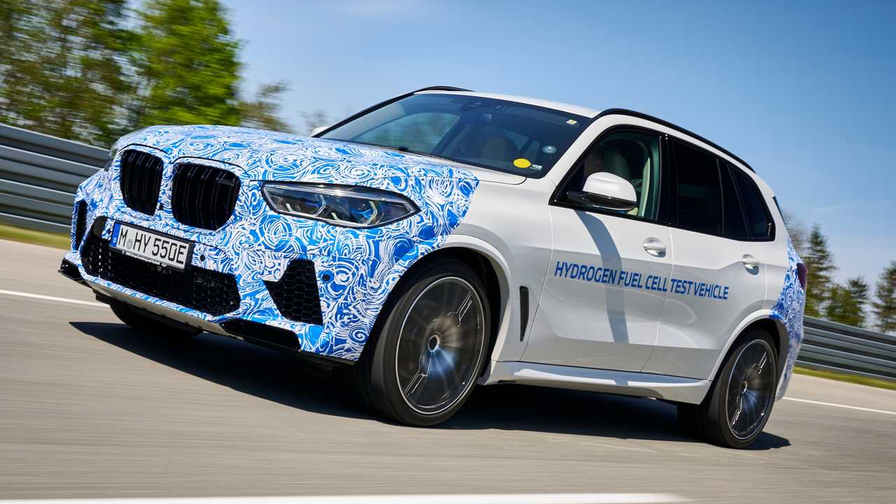 BMW X5 with fuel-cell powertrain testing in Europe