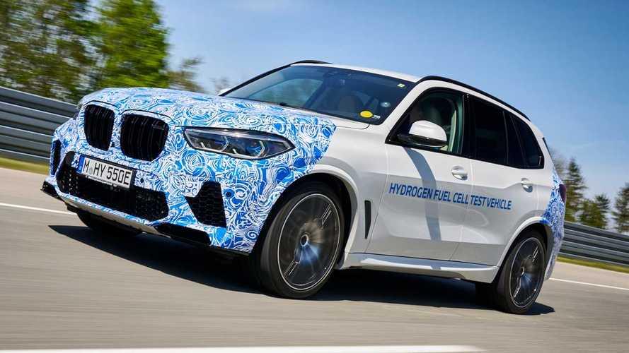 El BMW X5 de hidrógeno ya está de pruebas en carretera