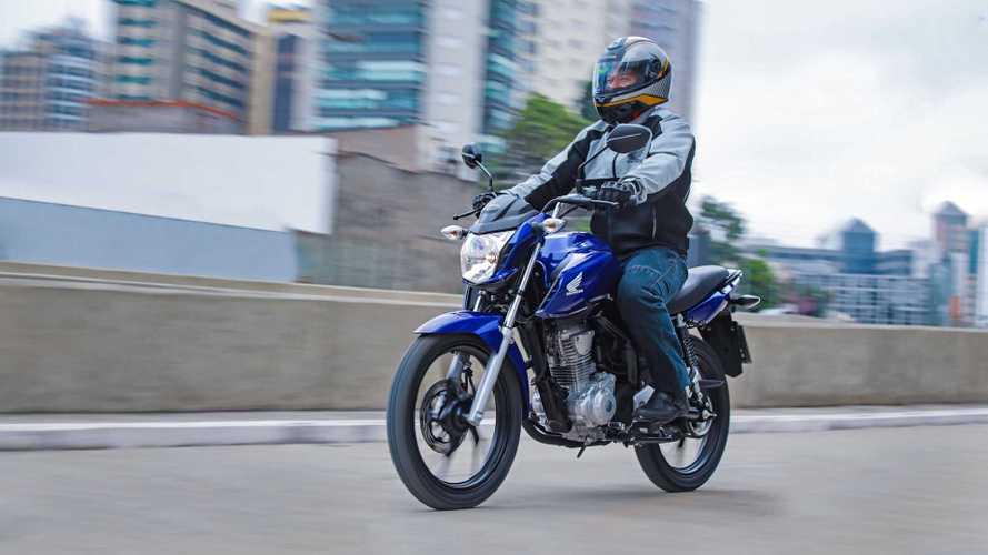 Honda CG domina vendas de motos no 1º semestre; veja o ranking