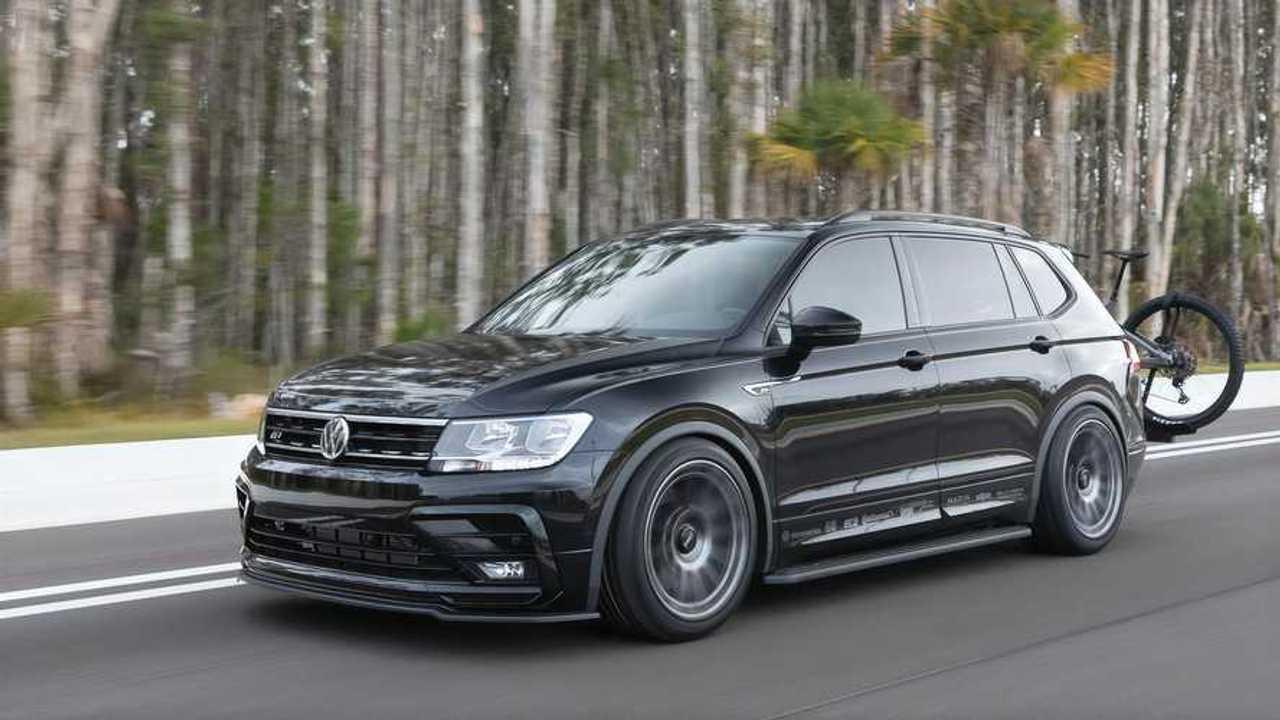 Volkswagen Tiguan Black RiNo, de SUV a deportivo