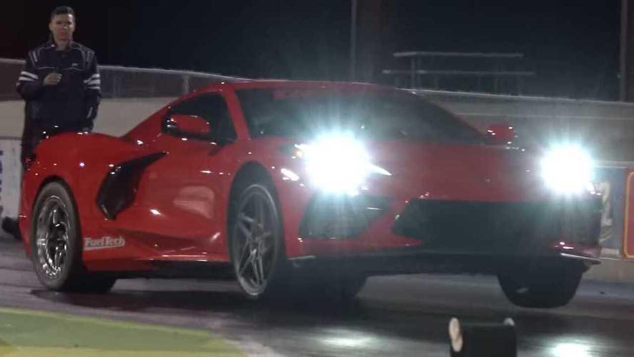 Twin-Turbo Chevy Corvette Drag Racer