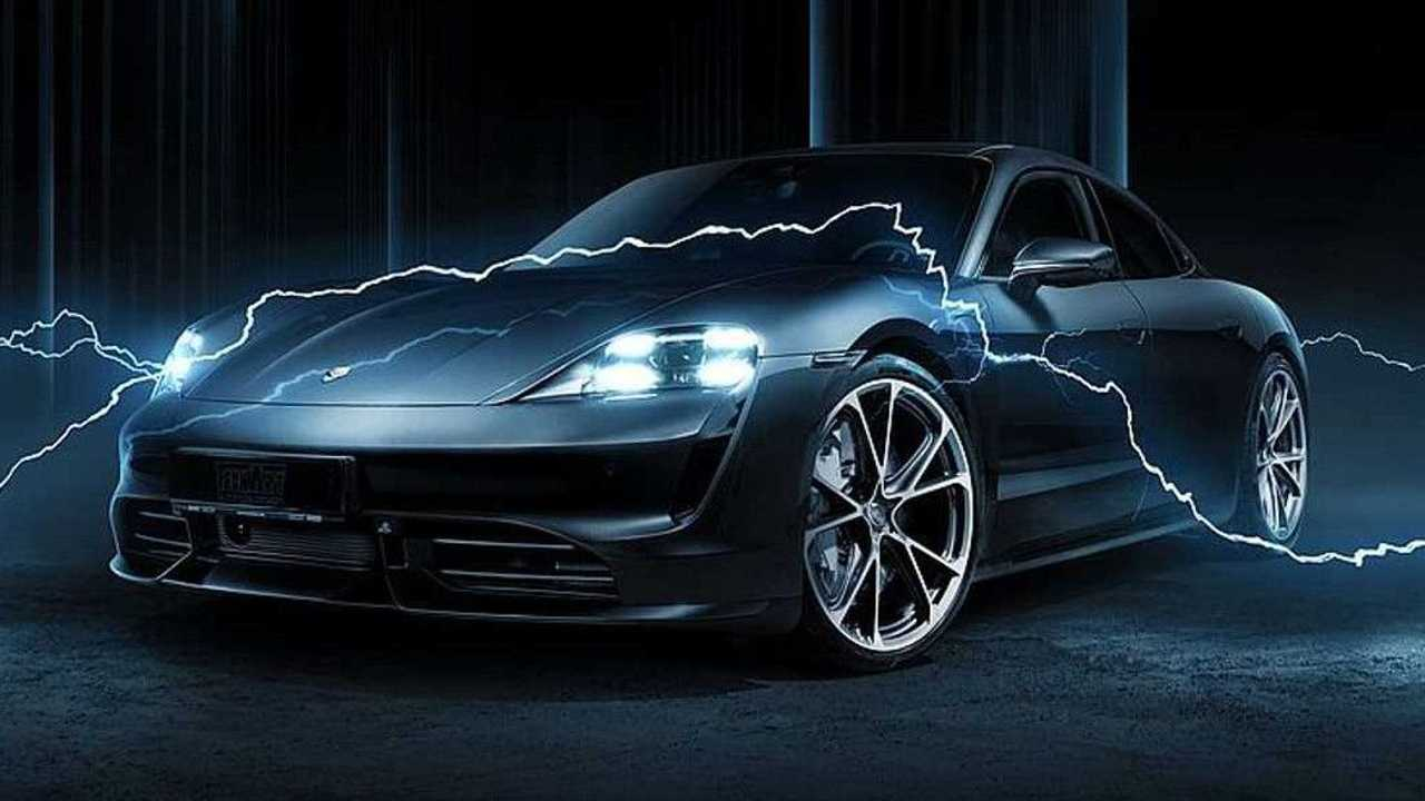 Porsche Taycan by Techart aerodynamic package