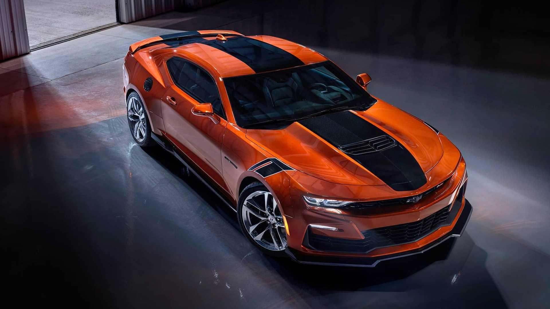 Vivid Orange Terungkap sebagai Warna Baru buat Chevy Camaro 2022