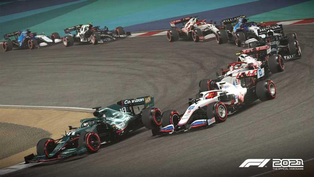 F1 2021 video game screenshot