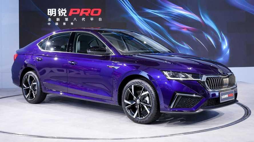 Skoda Octavia Pro (2021): Langversion für China (Update)
