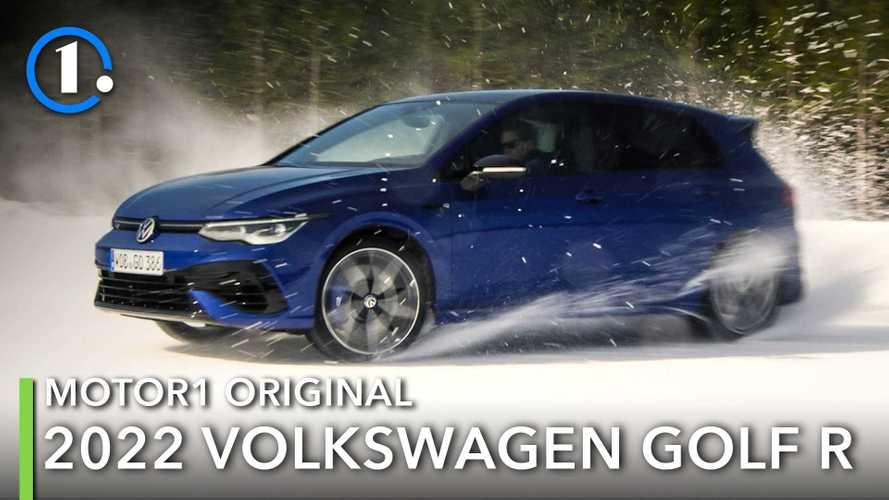 2022 Volkswagen Golf R Is An Excellent Ice Dancer