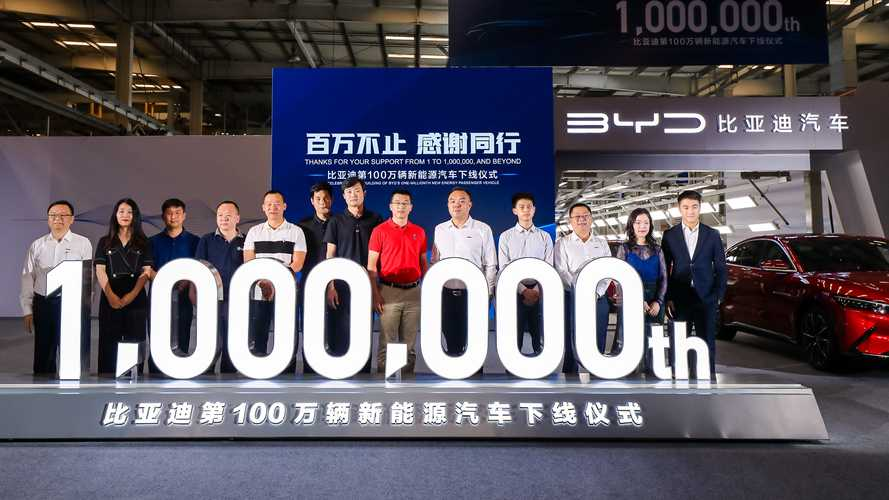 BYD's One-Millionth Plug-In Passenger Car