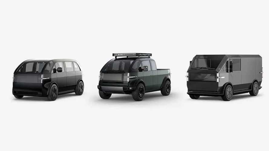 Canoo stellt drei Versionen seines Elektrofahrzeugs vor
