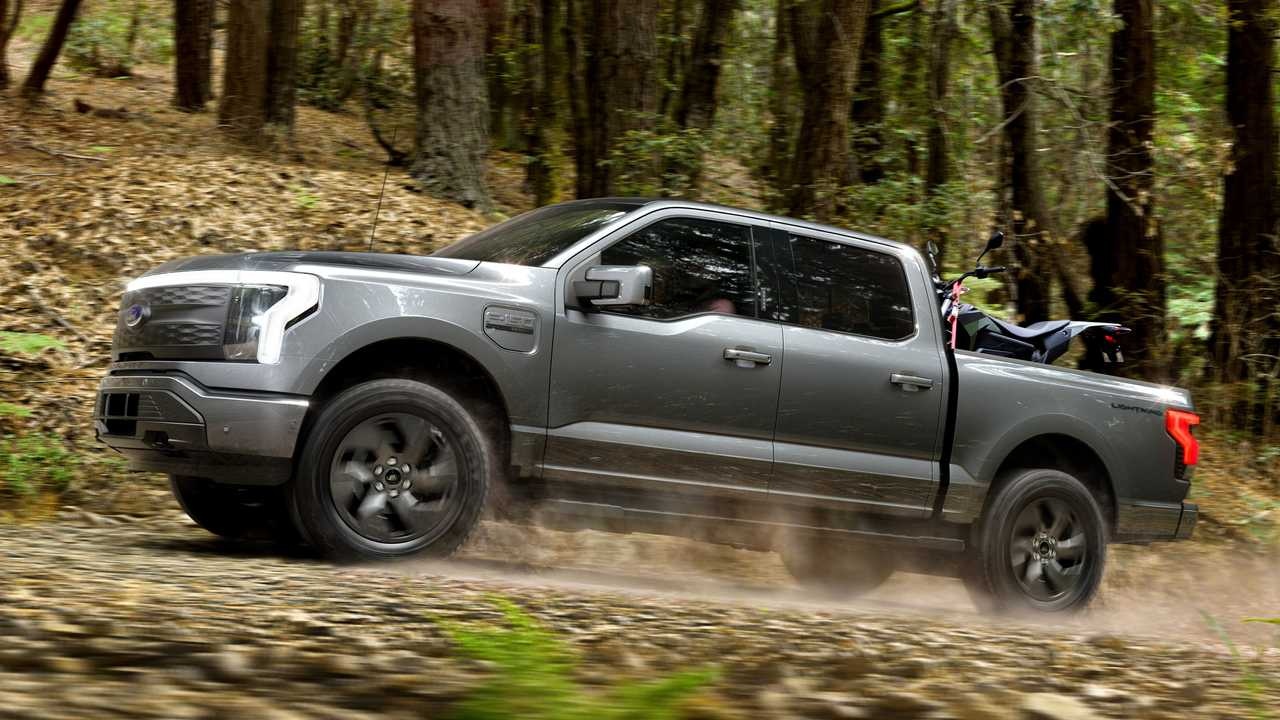 2022 Ford F-150 Lightning more expensive in Canada.