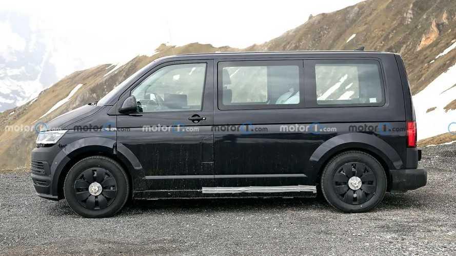 VW ID Buzz Interior Spy Shots