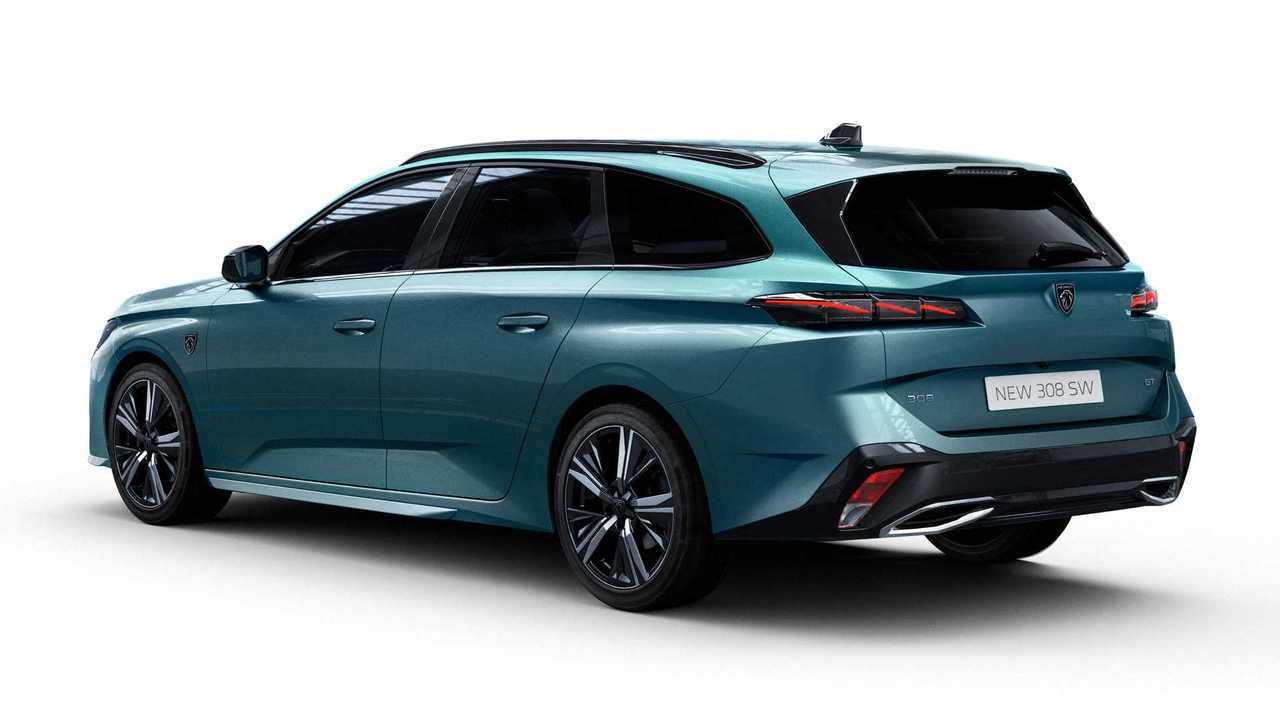 So sieht der neue Peugeot 308 SW ab 2022 aus