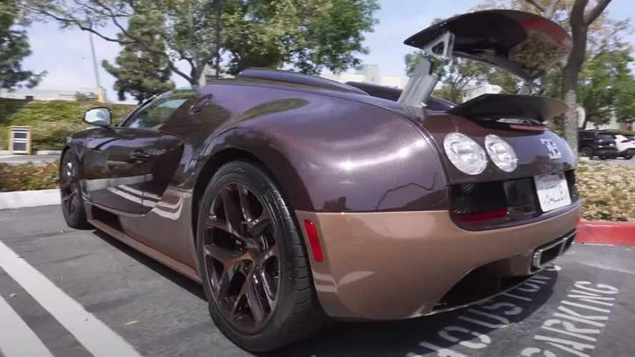 Videó: Akcióban az ultraritka Bugatti Veyron Grand Sport Vitesse Rembrandt