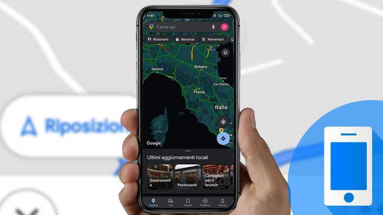 App tech 12 aprile 2021 Google Maps