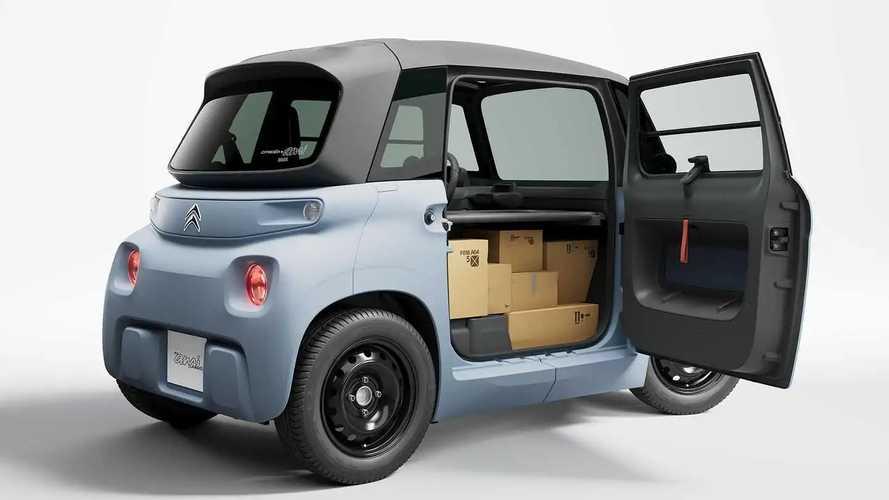 Citroën My Ami Cargo, il quadriciclo elettrico diventa un furgone