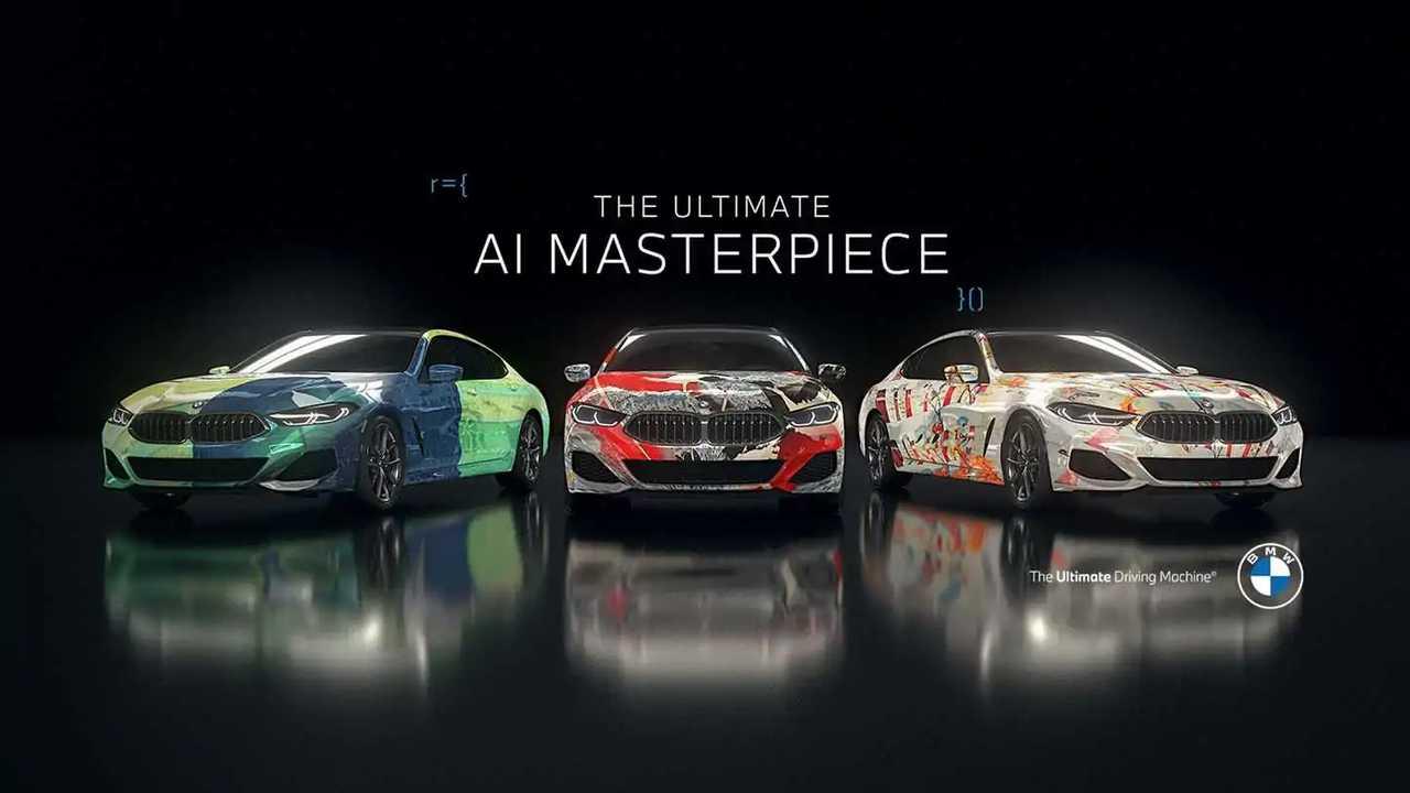 BMW Yapay Zeka Tasarımları