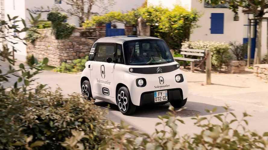 Citroën Ami Cargo (2021) - Utilitaire électrique et sans permis