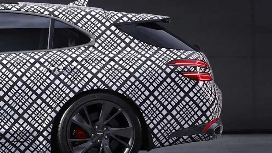 Genesis G70 Wagon Teaser Images Show Off Elegant Rear-End Design