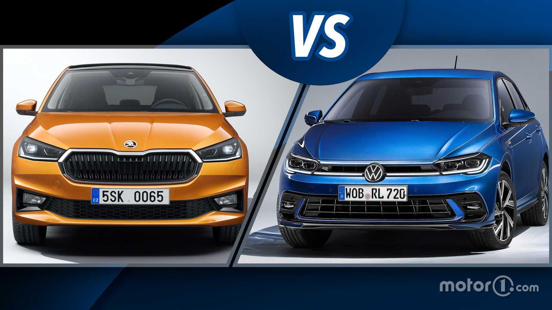 Skoda Fabia vs VW Polo, la sfida tra le cugine di segmento B