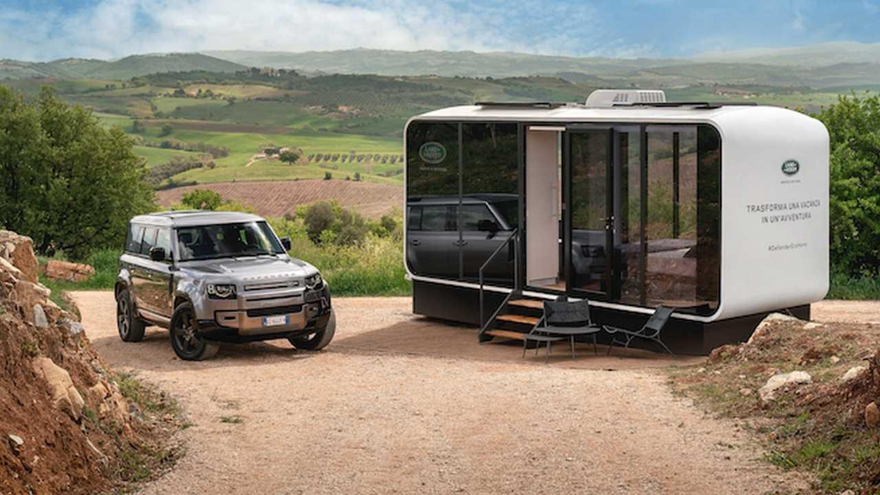 Alquiler de casa ecológica y Land Rover Defender