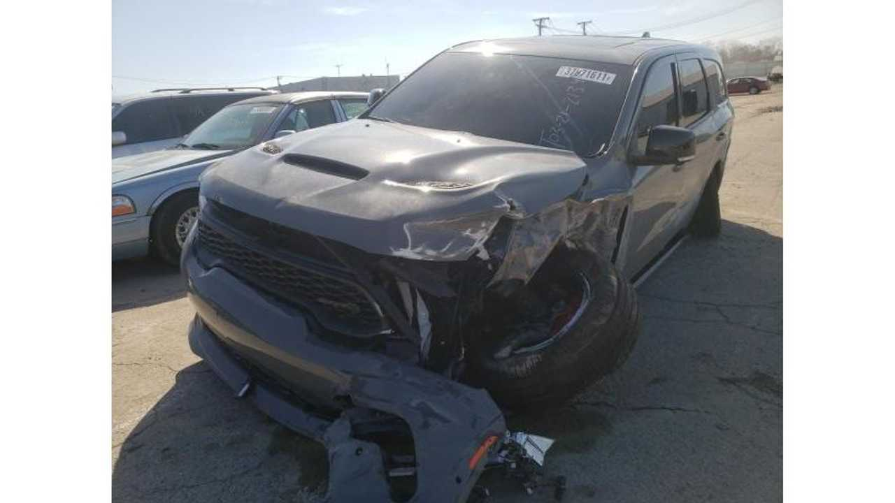 Dodge Durango SRT Hellcat for sale on Copart