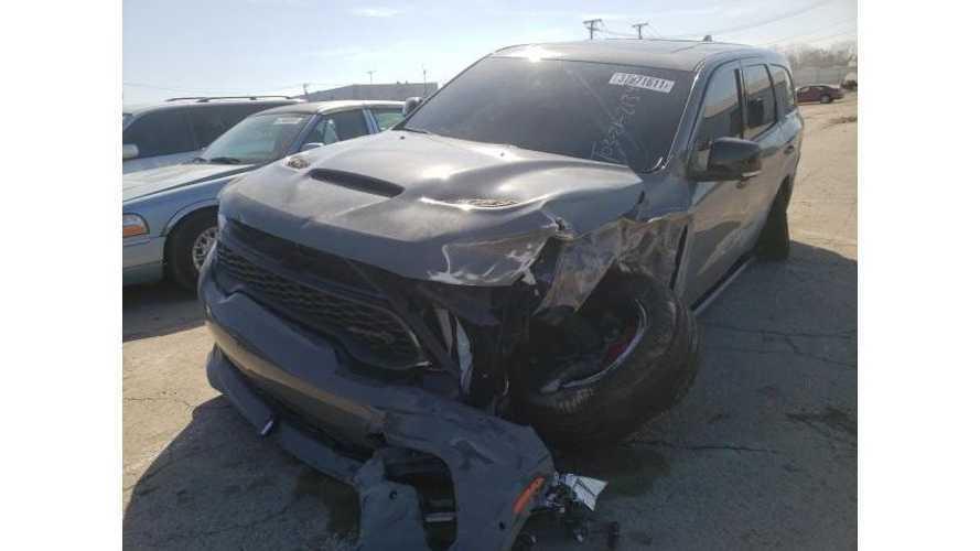 2021 Dodge Durango SRT Hellcat Has Already Been Crashed