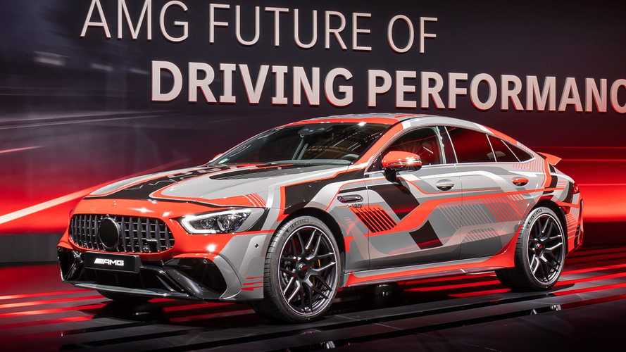 Mercedes-AMG E Performance Is The Future For GT 4-Door, C-Class