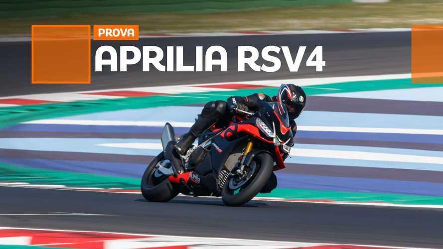 Aprilia RSV4 Factory 2021 - TEST
