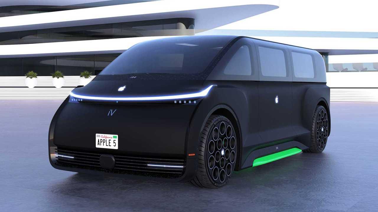 سيارة أبل الاختبارية من تصميم إمري هوسمن