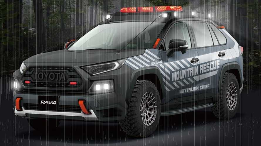 Japan is getting a brilliant Toyota RAV4 off-road rescue vehicle concept