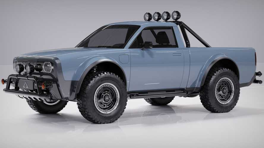 Alpha Wolf Compact EV Pickup Is A Modern Take On The Classic Truck