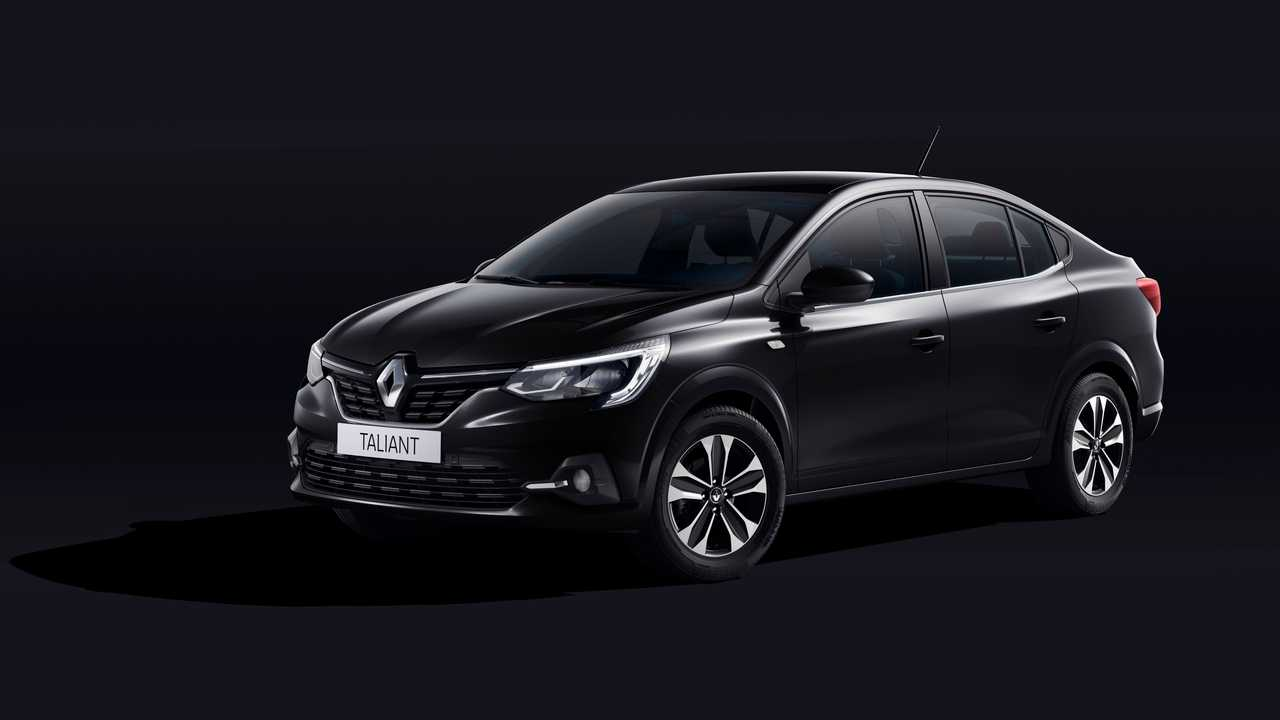 Renault Taliant ilk görseller