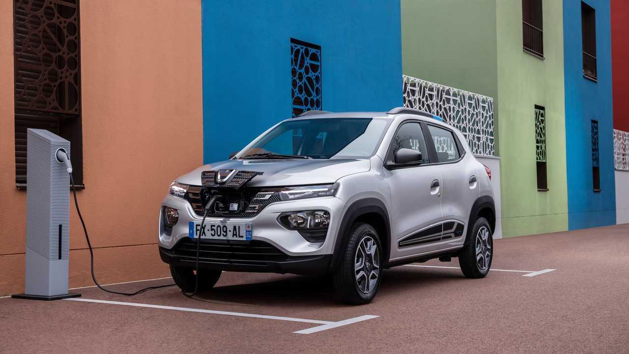 Prix de la Dacia Spring électrique