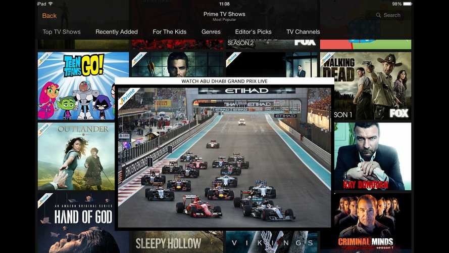 F1 explains talks with Amazon over TV rights and streaming