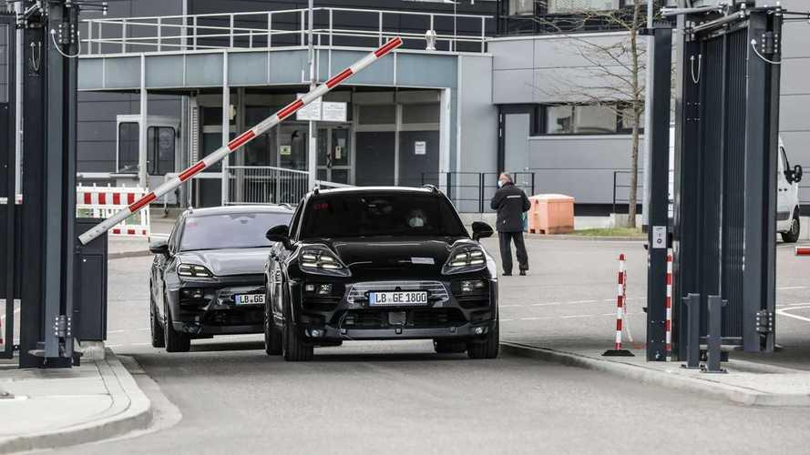 Porsche Macan électrique - Premières sortie sur route