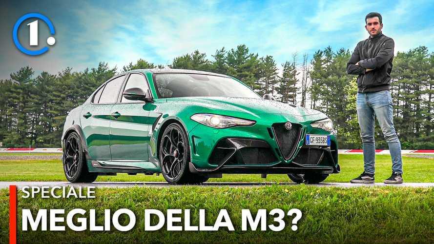 Alfa Romeo Giulia GTA, la prova della berlina sportiva definitiva