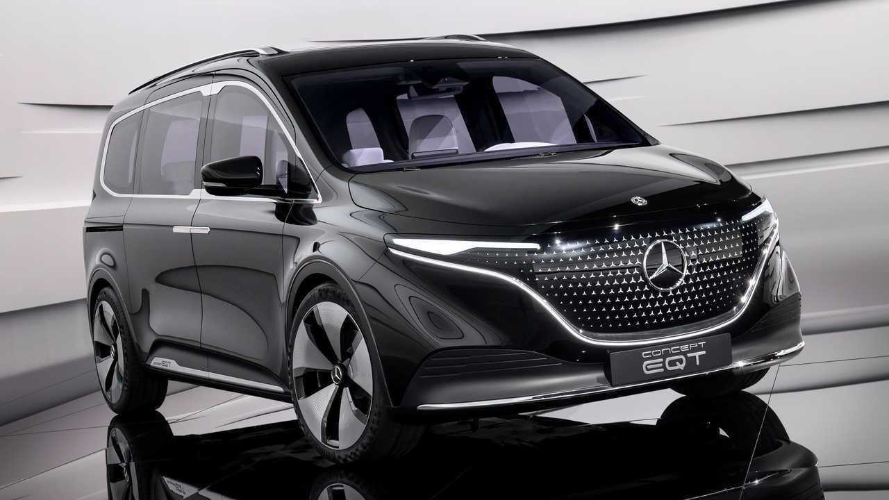 Der Mercedes Concept EQT ist ein seriennaher Ausblick
