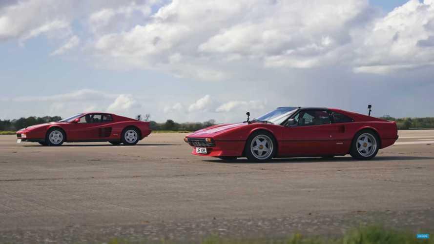 Tesla-Swapped Ferrari 308 Is A Silent Killer In Testarossa Drag Race