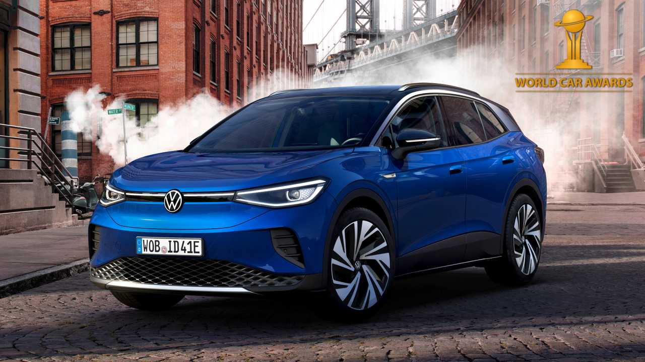 Volkswagen ID.4 è World Car of The Year 2021