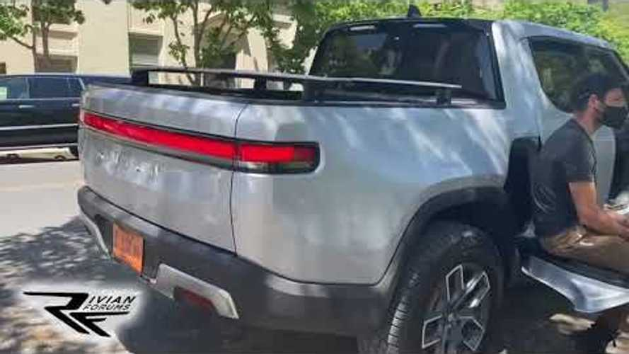 Rivian R1T Spotted In The Wild: Video & Images Reveal New Detail