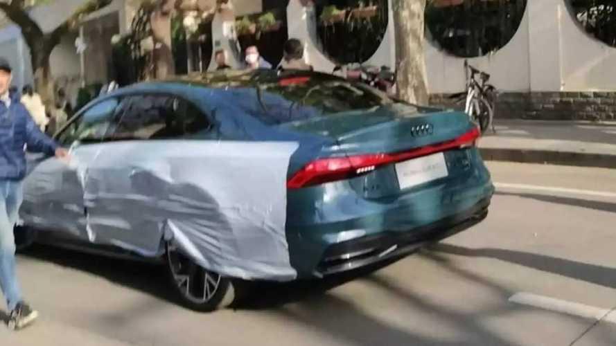 L'Audi A7 perd sa forme Sportback, voici la berline A7 L pour la Chine